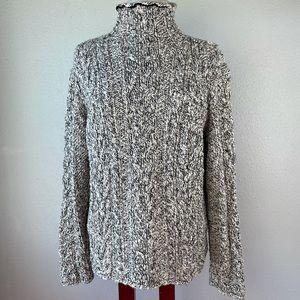 Lauren Ralph Lauren Mock Neck Sweater Size XL EUC